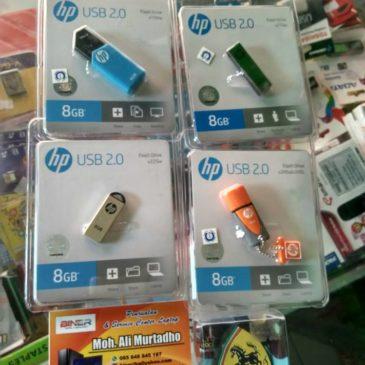 Flashdisk Hp besi / karet 8 Gb ORI