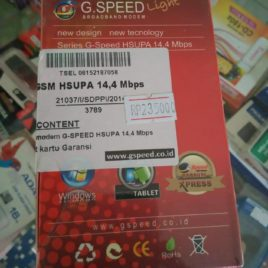G Speed 3.5 HSUPA 14.4 Mbps